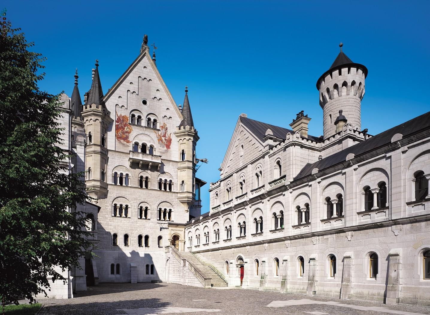 Neuschwanstein - Oberer Schlosshof