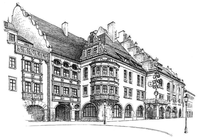rights-managed.de hofbräuhaus münchen panoramafreiheit bildmarke