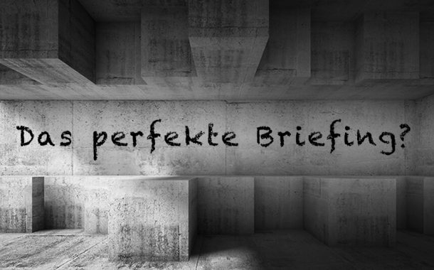 12 Punkte eines perfekten Briefings